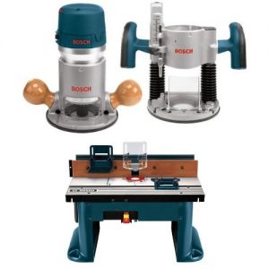 Bosch 1617EVSPK 12 Amp Horsepower Plunge and Fixed Base Variable Speed