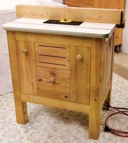 Deluxe DIY Router Table Plan