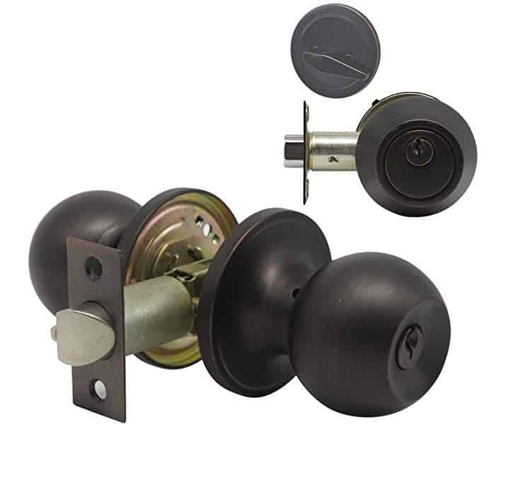 Home Improvement Direct 4-Piece Entry Door Lock Set
